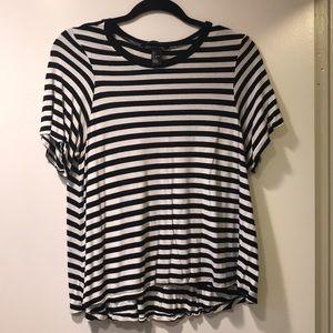 Block Stripe Flow T-shirt